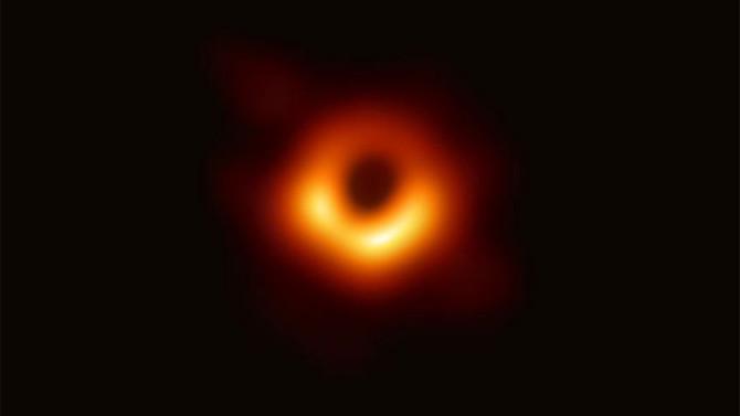 Kara Delik ilk kez görüntülendi