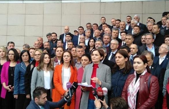 CHP'den İstanbul için ikinci mazbata başvurusu