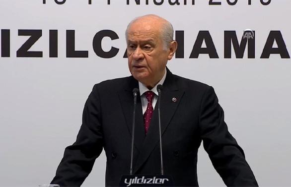 Bahçeli: MHP'nin oy oranı yüzde 18,81'dir