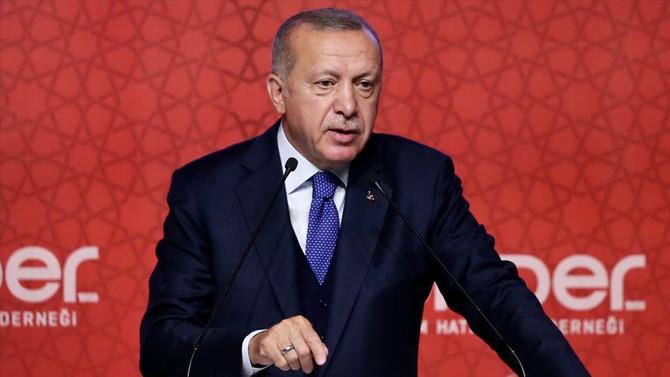 Erdoğan: Herkes bir yere savrulmaya başladı