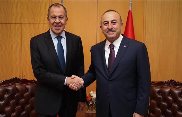 Çavuşoğlu, Rus mevkidaşı Lavrov ile Libya'yı görüştü