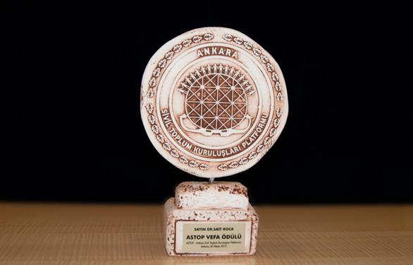 Sait Koca'ya Vefa Ödülü