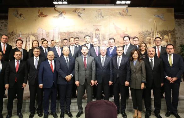 Bakan Albayrak, bankacılık sektörü temsilcileri ile buluştu