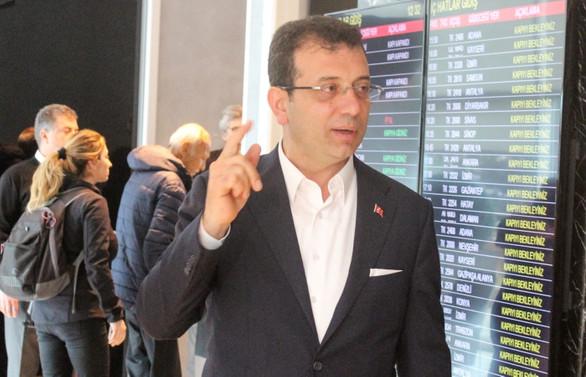 Ekrem İmamoğlu Ankara'ya gitti