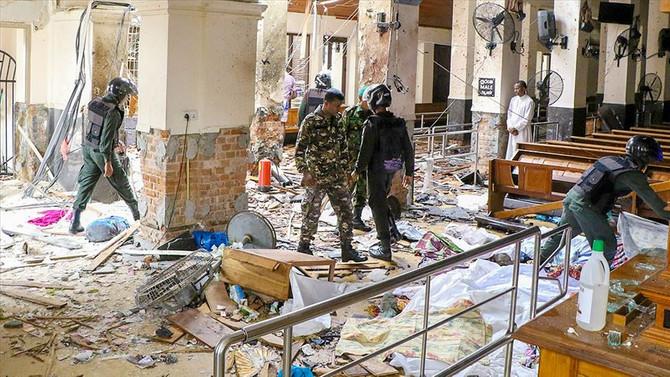 Sri Lanka, saldırılarla sarsıldı!