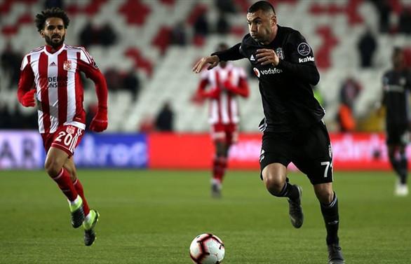 Sivas'ta 3 puan Beşiktaş'ın