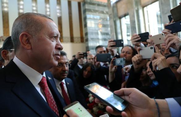 Erdoğan: Şehit cenazesine giderken dikkat edeceksin