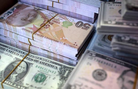 MB brüt döviz rezervi 1.39 milyar dolar azaldı