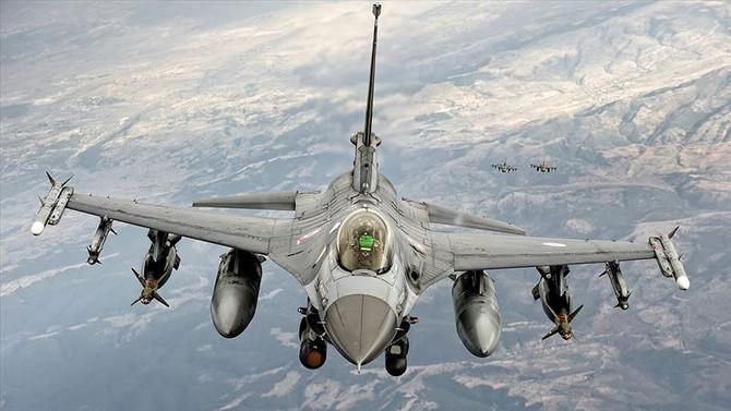 Zap'a hava harekatı: 14 terörist etkisiz hale getirildi