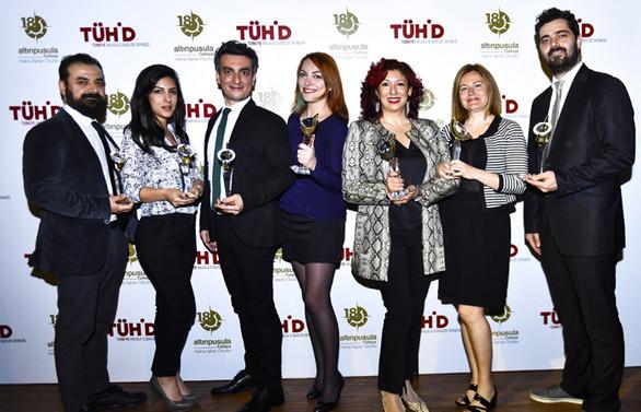 İz İletişim, Altın Pusula'da 7 ödül aldı!