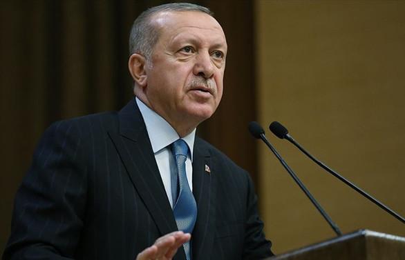 Erdoğan: Tarihimizin en yüksek ilk çeyrek ihracatına imza attık