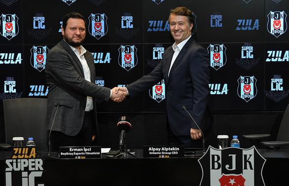 Beşiktaş JK, InGame işbirliği ile e-spor faaliyetlerini genişletiyor