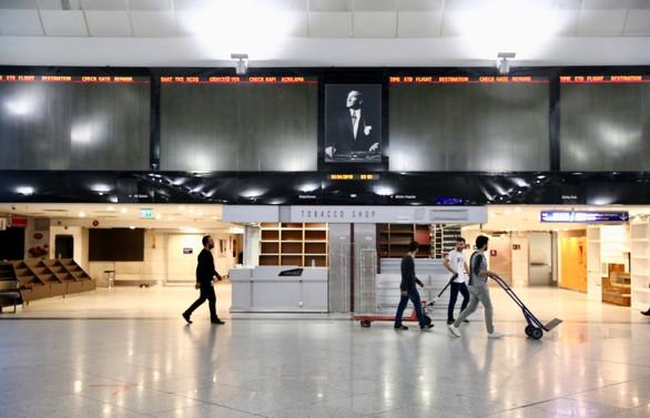 Atatürk Havalimanı sessizliğe büründü