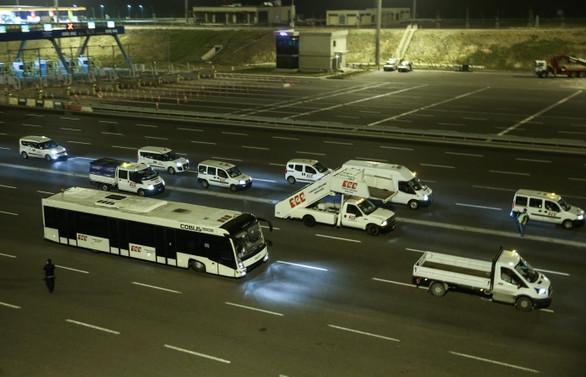İstanbul'da trafiğe kapatılan yollar açıldı