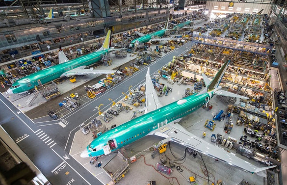 Boeing, 737 MAX üretimini azaltıyor