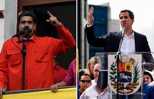 Maduro 'diyaloğa', Guaido 'sokağa' çağırdı