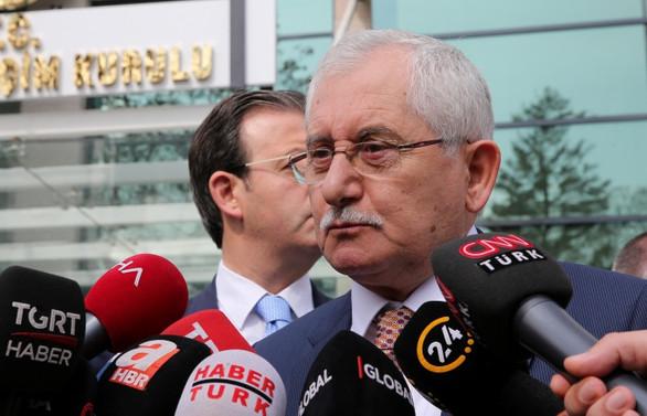 YSK Başkanı: Yargı süreci devam ediyor