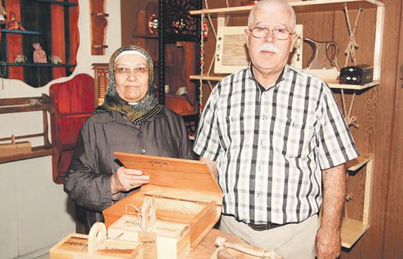70 yaşındaki Çopur çifti girişimciliğin yaşı yok dedi
