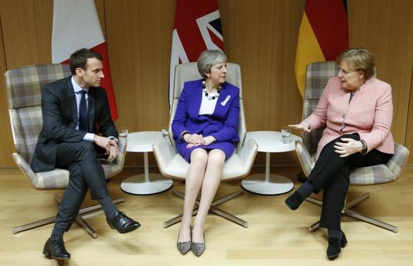 May, Merkel ve Macron ile görüşecek