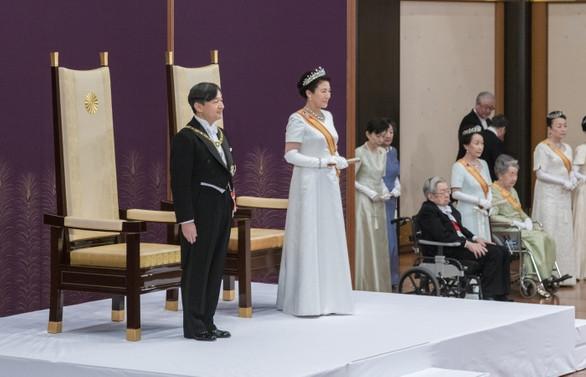 Japonya'da tahtın yeni sahibi Naruhito
