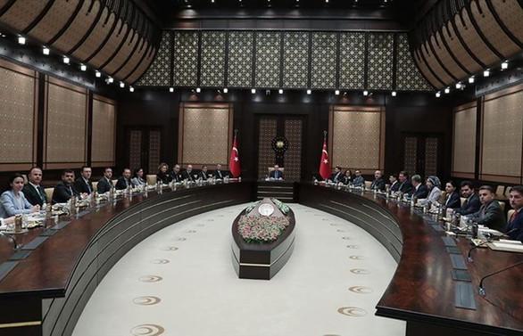 Erdoğan, TÜSİAD'ı kabul etti