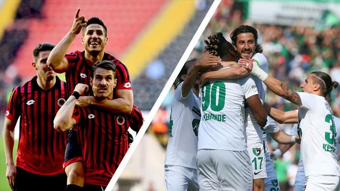 Abalı Denizlispor ve Gençlerbirliği Süper Lig'de