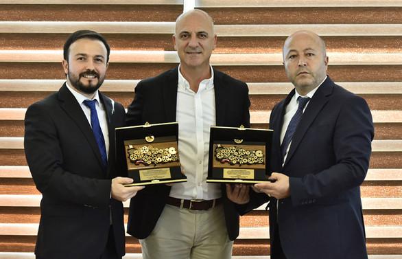 Antalya OSB'nin başarılı firmaları bir araya geldi