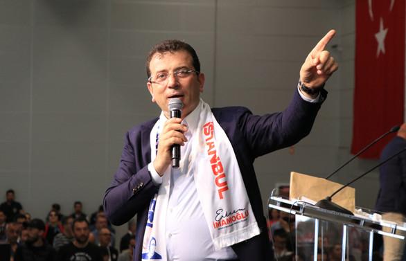 İmamoğlu, 'İstanbul Gönüllüleriyle' buluştu