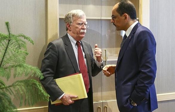 Kalın-Bolton görüşmesi: İkili ilişkiler ele alındı