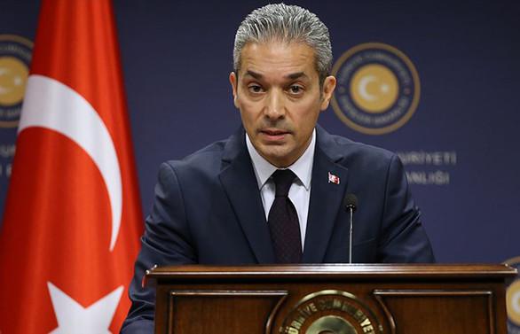 Türkiye'den GKRY'nin tutuklama kararına tepki