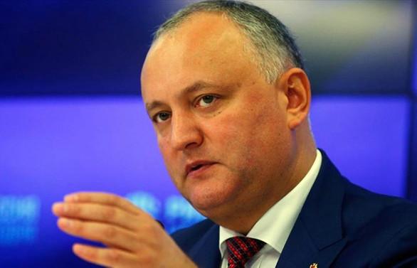 Moldova Cumhurbaşkanı, istifa etmeyeceğini açıkladı