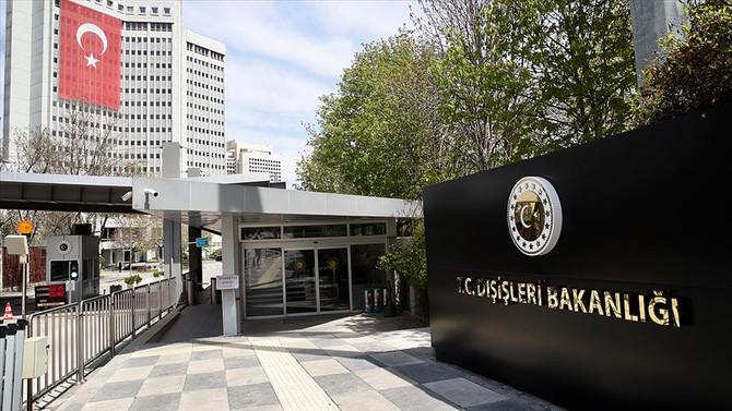 Türkiye'den ABD Temsilciler Meclisinde kabul edilen karara tepki