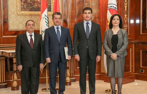 IKBY'de hükümeti kurma görevi Mesrur Barzani'ye verildi