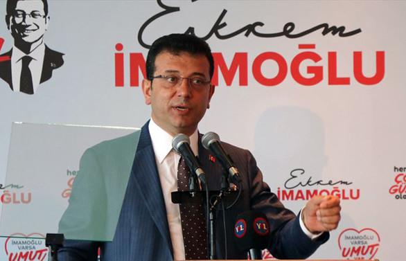 İmamoğlu:  İstanbul herkesin mutlu olduğu bir kent olacak