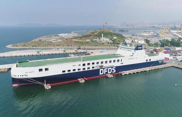Akdeniz'in en büyük Ro-Ro'su sefere çıkıyor