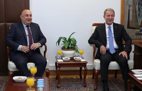 Akar'dan CHP'ye 'askerlik sistemi' ziyareti