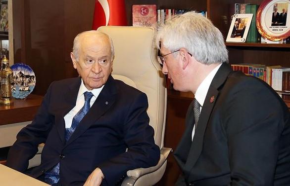 MHP Genel Başkanı Bahçeli İstanbul'da