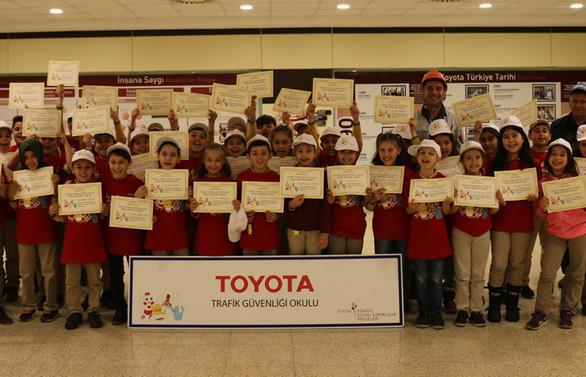 Toyota, çocukları trafiğe karşı bilinçlendiriyor