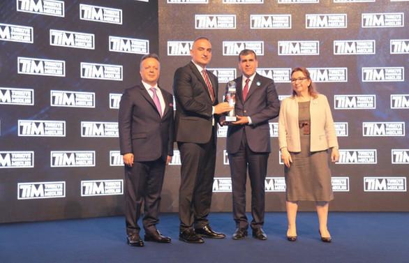 Türkiye İhracatçılar Meclisi'nden Altunkaya'ya büyük ödül