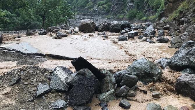 Pakdemirli: Araklı'daki selde 3 kişi yaşamını yitirdi, 7 kişi kayıp