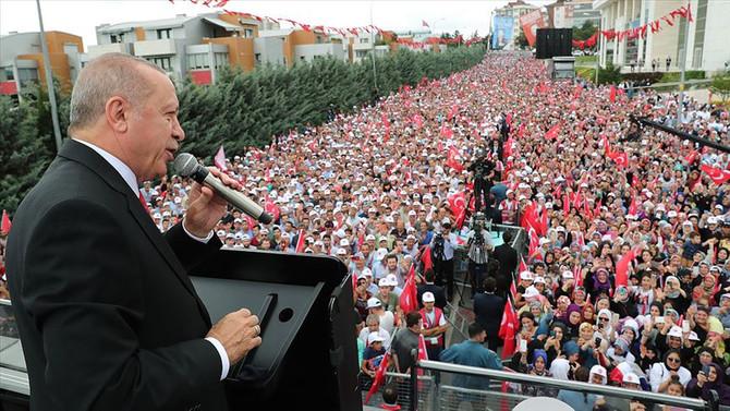 Erdoğan: Mısır'ın yargılanması için gerekeni yapacağız