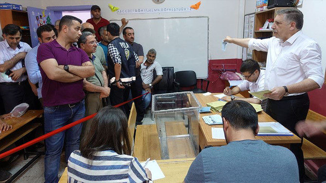 Honaz'da CHP, Keskin'de AK Parti kazandı