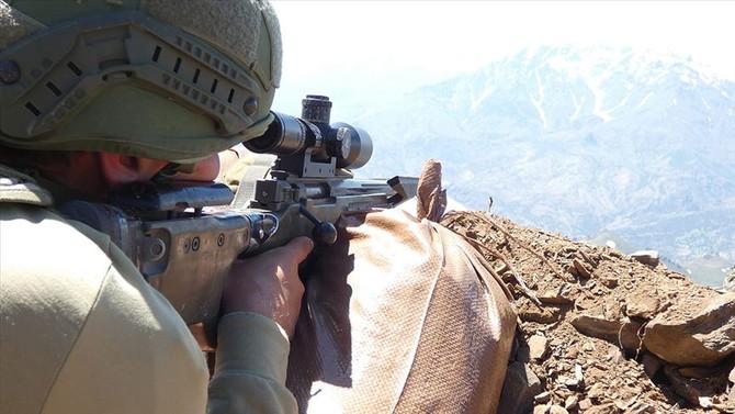 'Pençe' harekatında 5 terörist daha etkisiz hale getirildi