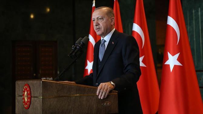 Erdoğan'dan İmamoğlu'na tebrik