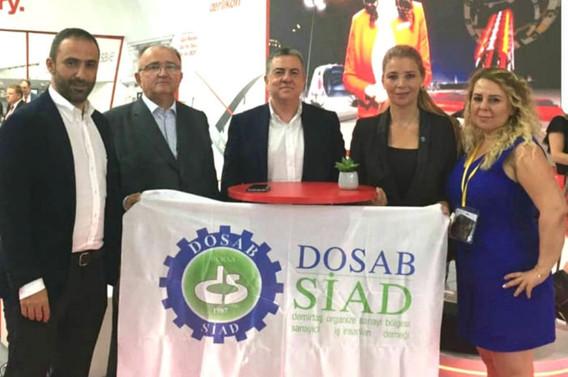 DOSAB'lı tekstilciler ITMA Fuarı'ndan memnun ayrıldı