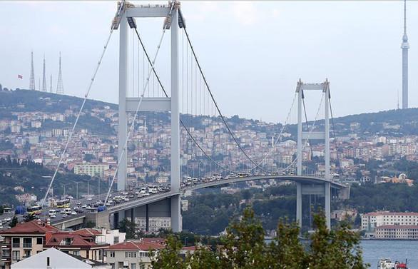 15 Temmuz Şehitler Köprüsü'nde çalışma yok
