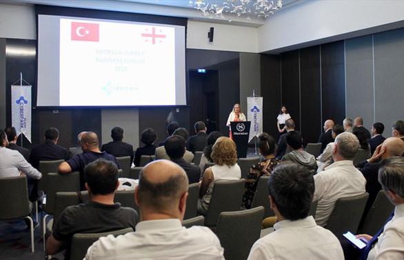 Türkiye-Gürcistan İş Forumu düzenlendi
