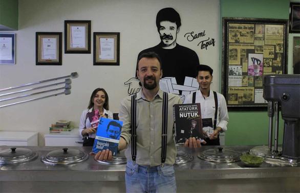 Kesdo Dondurma, Kayseri'yi okumaya davet ediyor