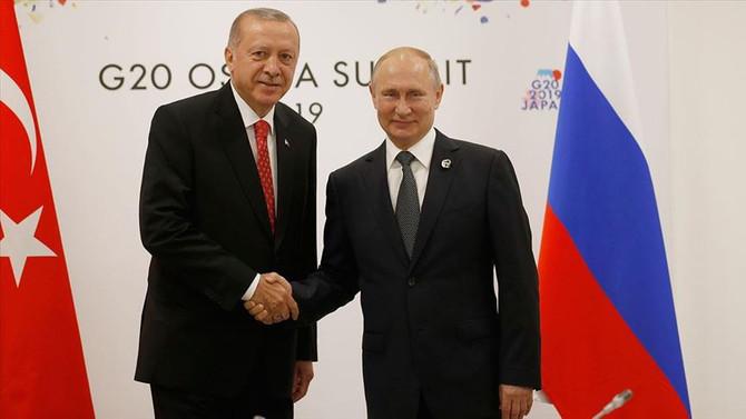 Erdoğan-Putin görüşmesi 55 dakika sürdü