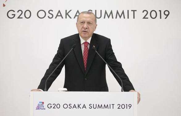 Erdoğan: Yaptırım olmayacağını Trump'tan dinledik